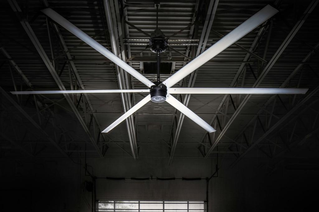 How Hvls Macroair Fans Help Warehouse Ventilation Benco