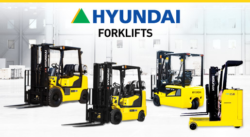 Hyundai Forklift Heads to Saint Louis